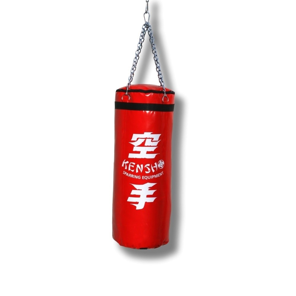 Kensho Punching bag, 100x40 cm, red