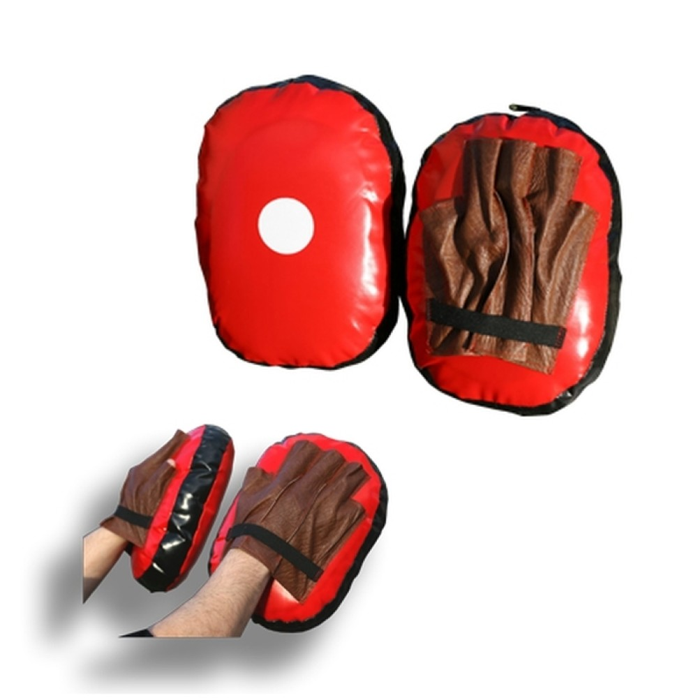 Kensho Punching Mitts Training Gloves, synthetic leather