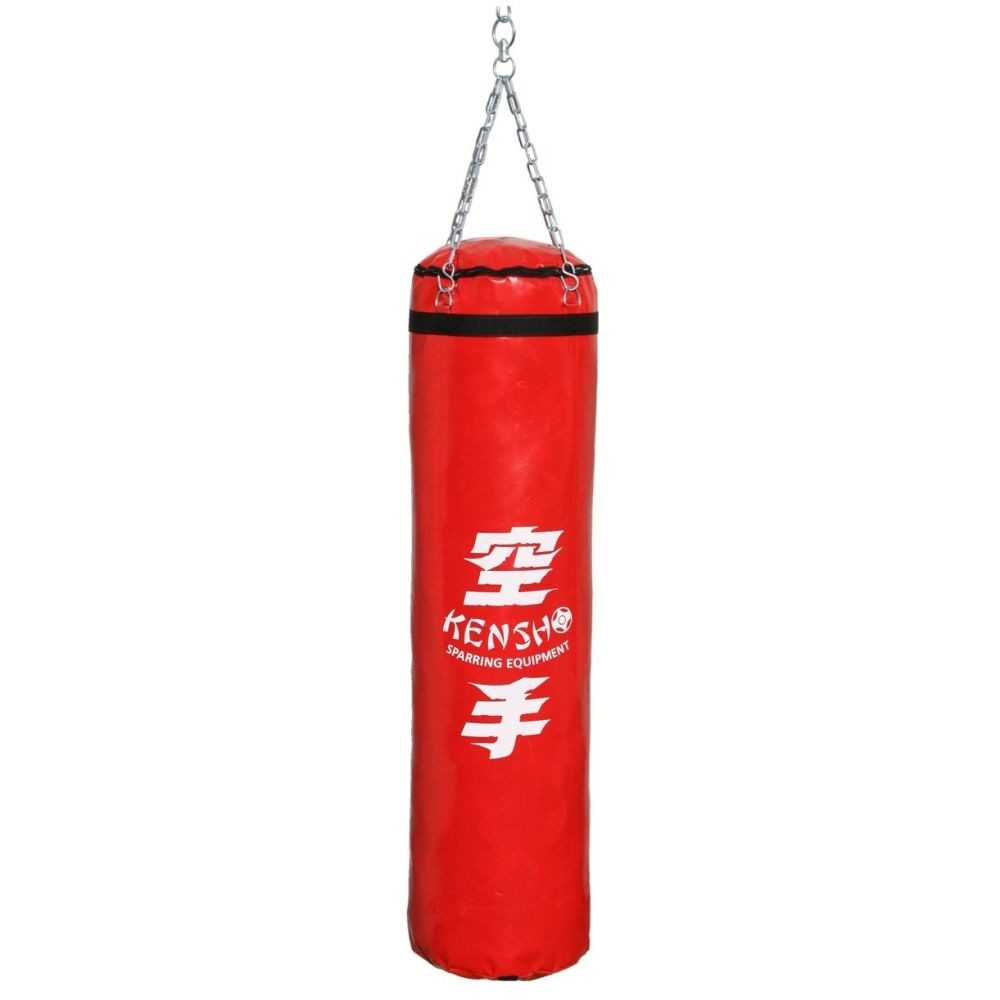 Kensho Punching bag, 160x35 cm, red