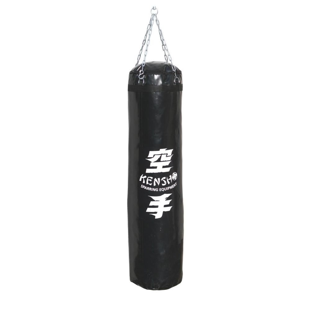 Kensho Punching bag, 140x35 cm, black
