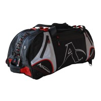 "Arawaza Technical Sport Bag Backpack Black/Red ""M"""