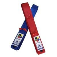 Arawaza Competition Kata Belt Blue Satin WKF 240 cm