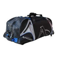 "Arawaza Technical Sport Bag Backpack Black/Blue ""M"""
