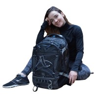 Arawaza All-around Technical Sport Backpack Black/Gray 34 L